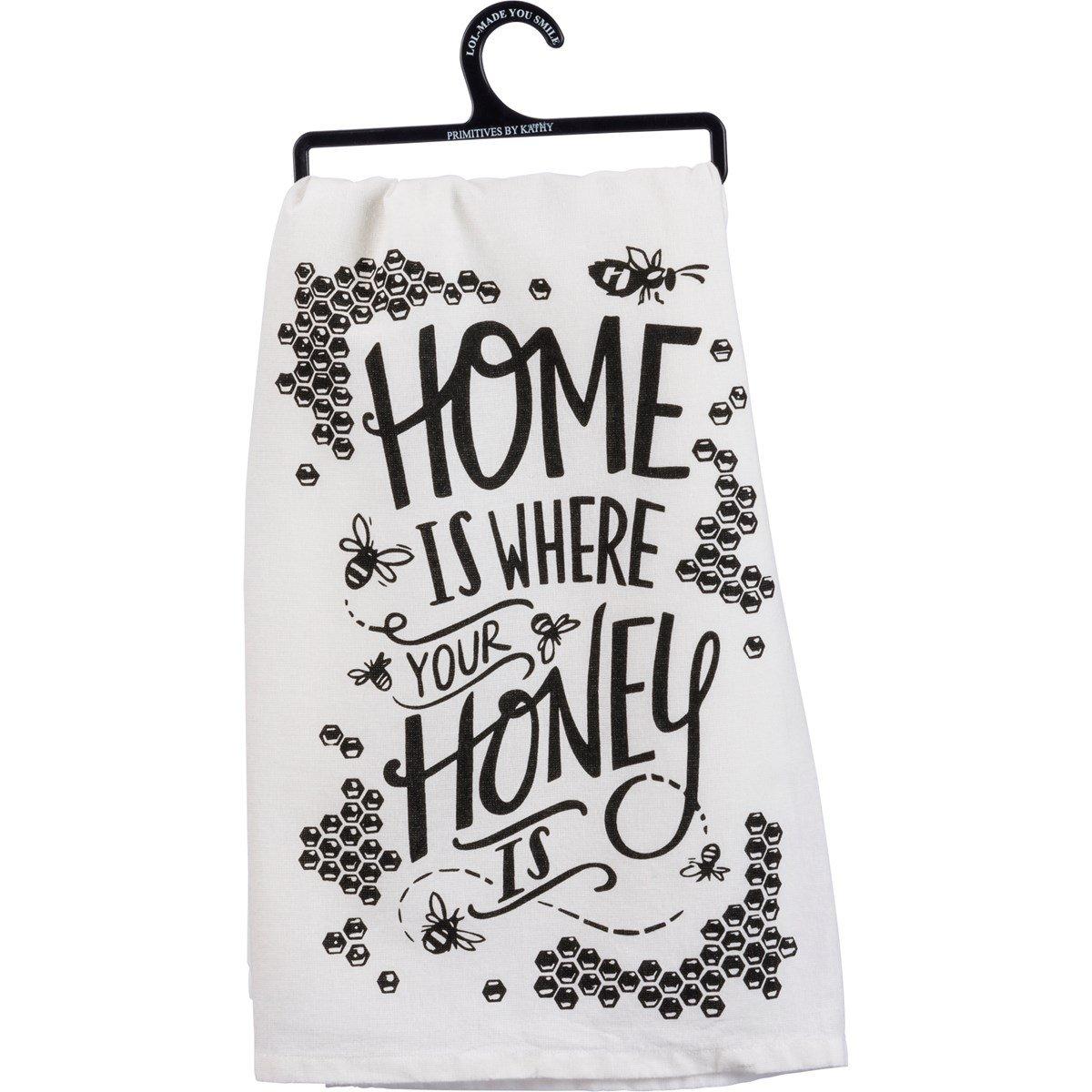 Dish Towel-Honey Is