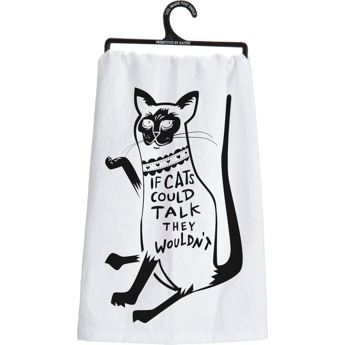 Dish Towel-Cats Could Talk