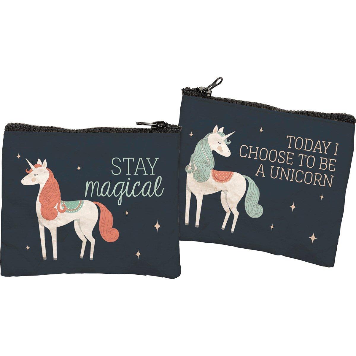 Zipper Wallet-Unicorn