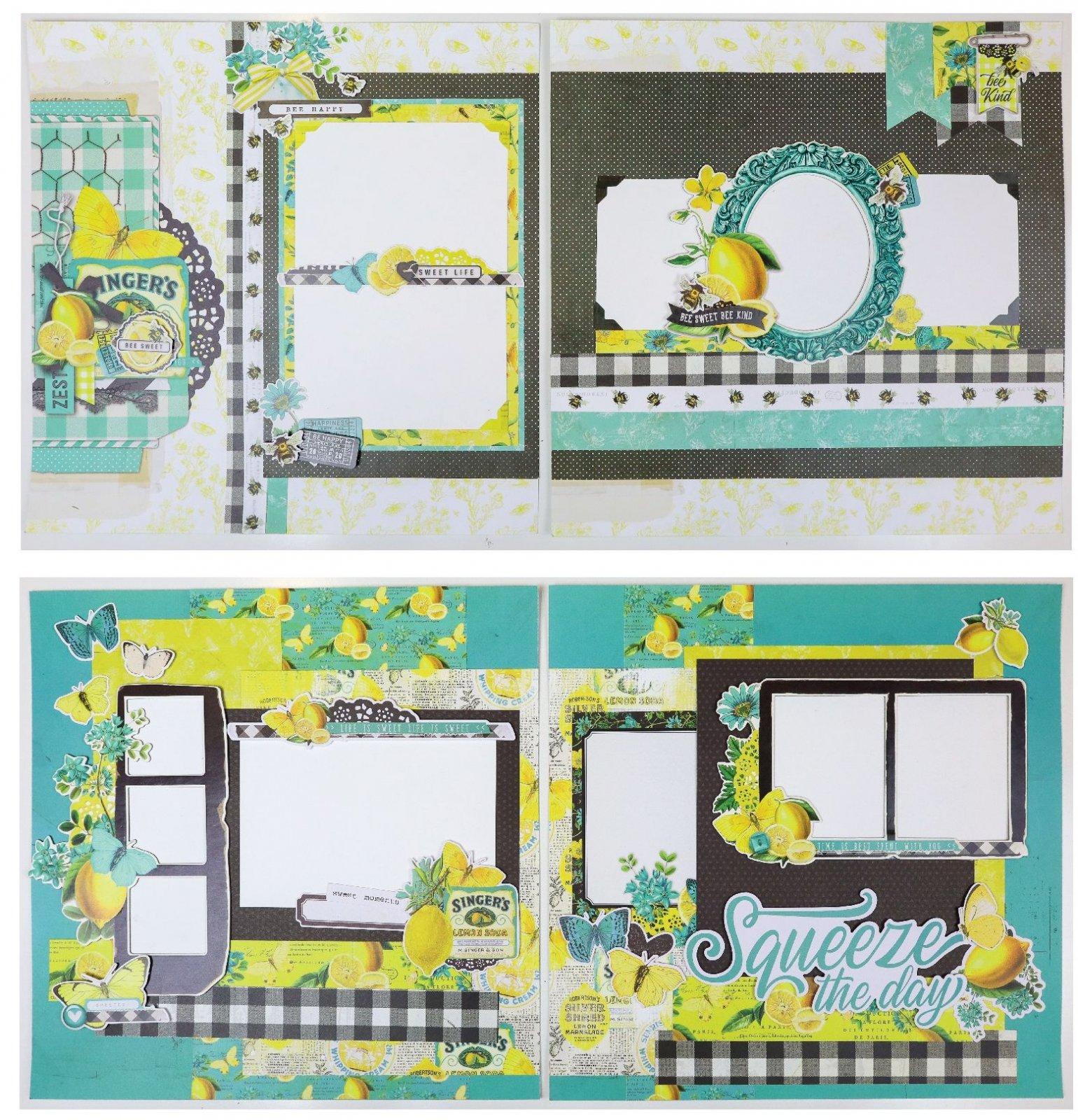 Mystery Monday #64 Lemon Twist Layouts Kit