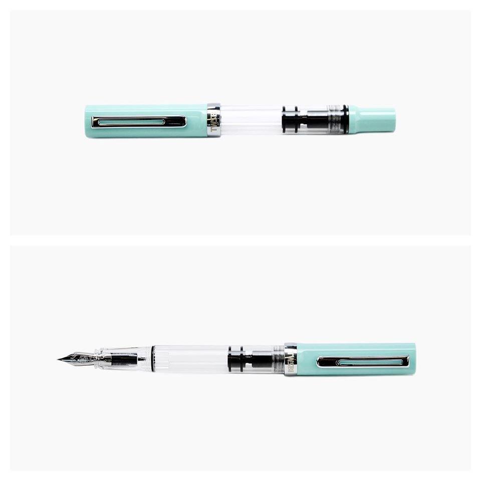 TWSBI ECO-T Fountain Pen - Mint Blue (Special Edition)-Fine Nib