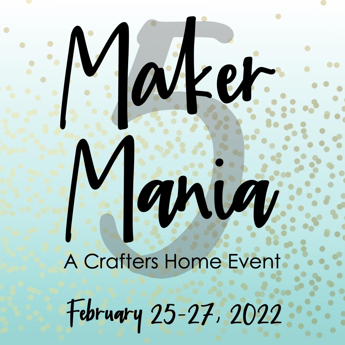 Maker Mania #5 Registration