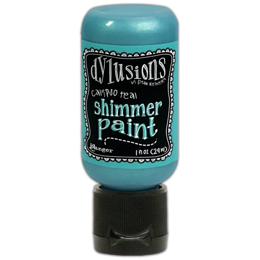 Dylusions Shimmer Paint 1oz Calypso Teal
