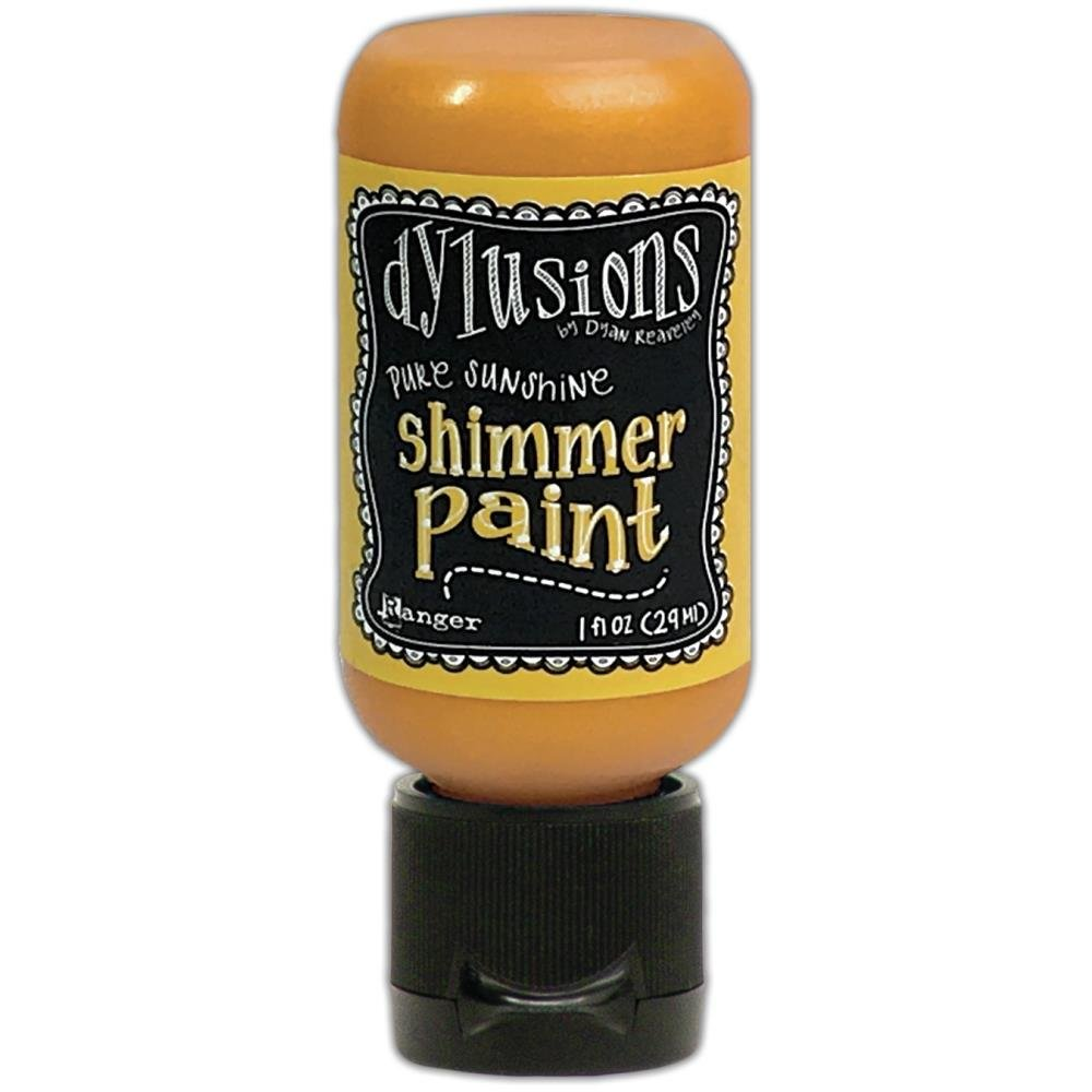 Dylusions Shimmer Paint 1oz Pure Sunshine