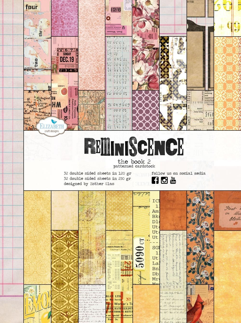 Elizabeth Craft Reminiscence The Book #2 IN STOCK