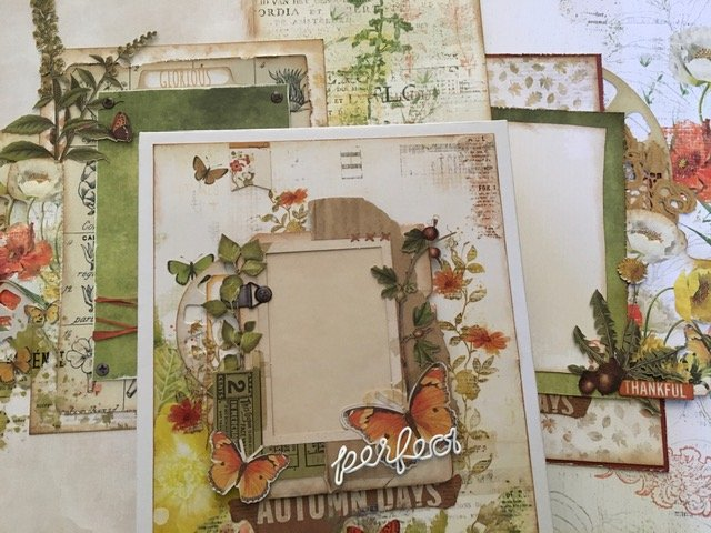 Mystery Monday #70 49 and Market In the Leaves Album Kit to Go