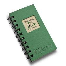 Geocaching - A Seek & Find Journal - Dark Green