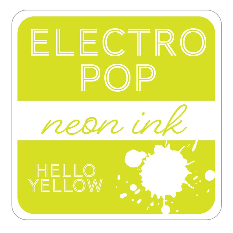 Electro Pop Ink Pad- Hello Yellow