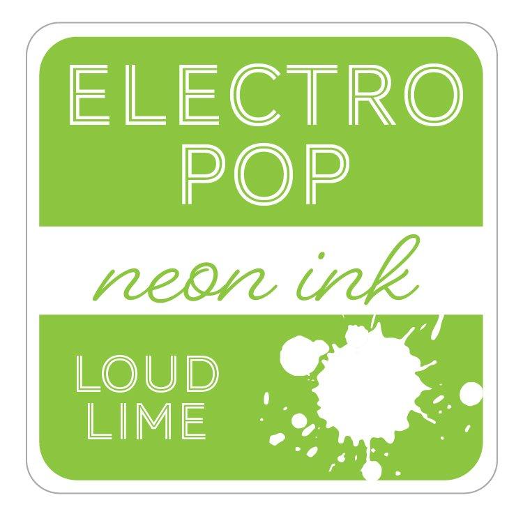 Electro Pop Ink Pad- Loud Lime