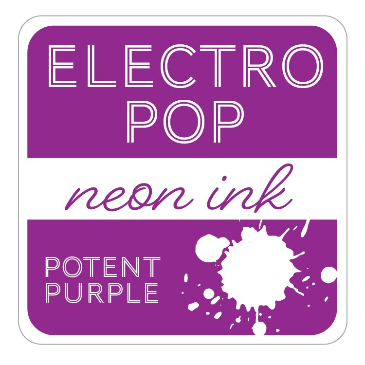 Electro Pop Ink Pad- Potent Purple