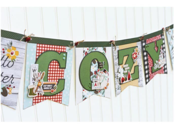 Simple Stories-Winter Farmhouse Cozy Banner Kit