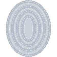Tutti Designs-Scalloped Stitched Nesting Ovals