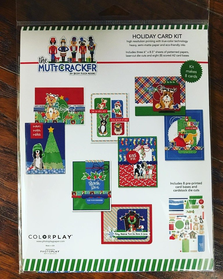 Photoplay-Exclusive Muttcracker Holiday Card Kit