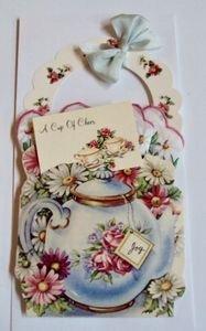 Tea Pot Basket Card Assorted