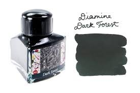 Diamine Dark Forest - 40ml Bottled Ink-Fountain Pen