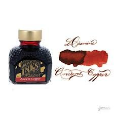 Diamine Ancient Copper - 80ml Bottled Ink