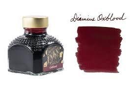 Diamine Oxblood - 80ml Bottled Ink