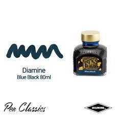 Diamine Blue-Black - 80ml Bottled Ink