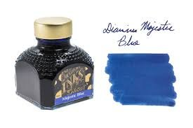 Diamine Majestic Blue - 80ml Bottled Ink