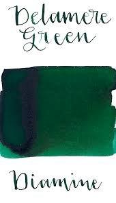 Diamine Delamere Green - 80ml Bottled Ink
