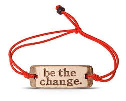 Be The Change-Band Bracelet