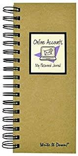 Journals Unlimited-My Password Journal Mid Size