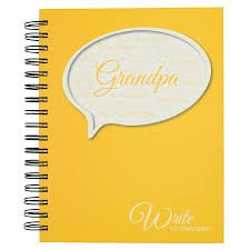 Journals unlimited-Grandpa Write to Remember Journal