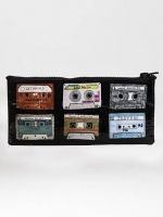 Blue Q-Mixtape Pencil Case