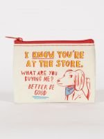 Blue Q-At The Store, What Are You Buying Me Coin Purse