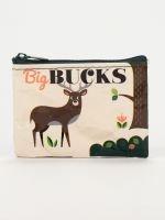 Blue Q-Big Bucks Coin Purse