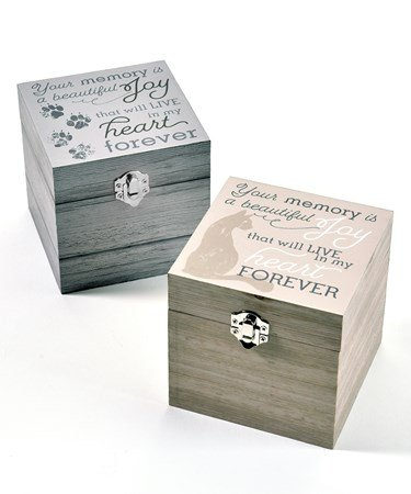 Pet Memory Boxes Assorted