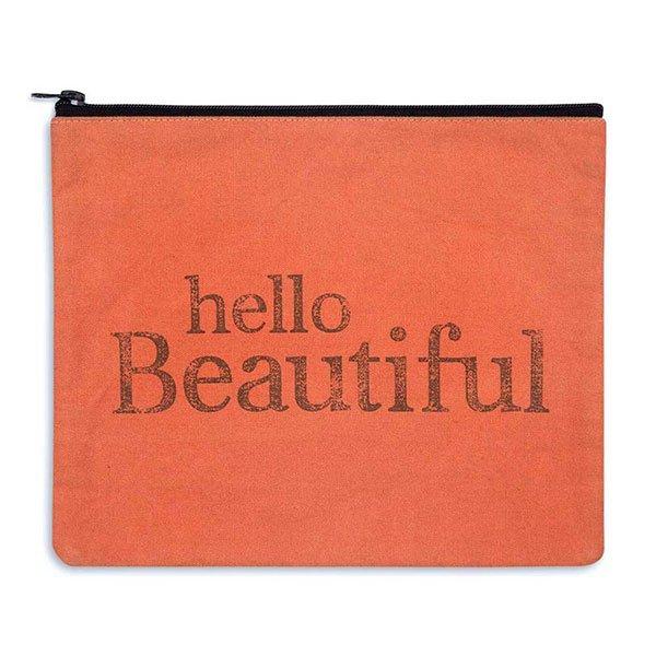 Hello Beautiful Travel Bag-Canvas