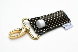 lippyclip-Royal Gold dot lip balm holder