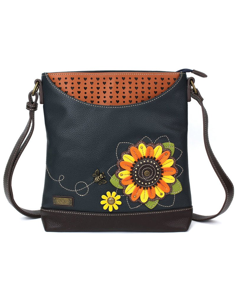 Chala Handbags Sunflower Sweet Messenger Bag Purse