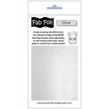 Wow silver fab foil