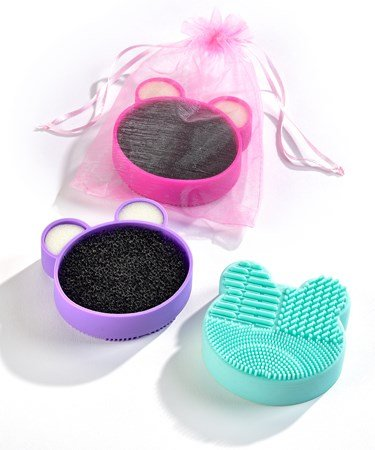 Brush Cleaning Silicone Mat Assorted Colors