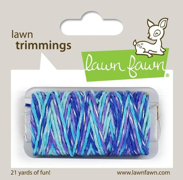 Lawn Fawn Trimmings Mermaid's Lagoon Sparkle Cord