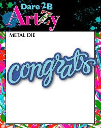 Dare 2B Artzy Congrats Layer Die