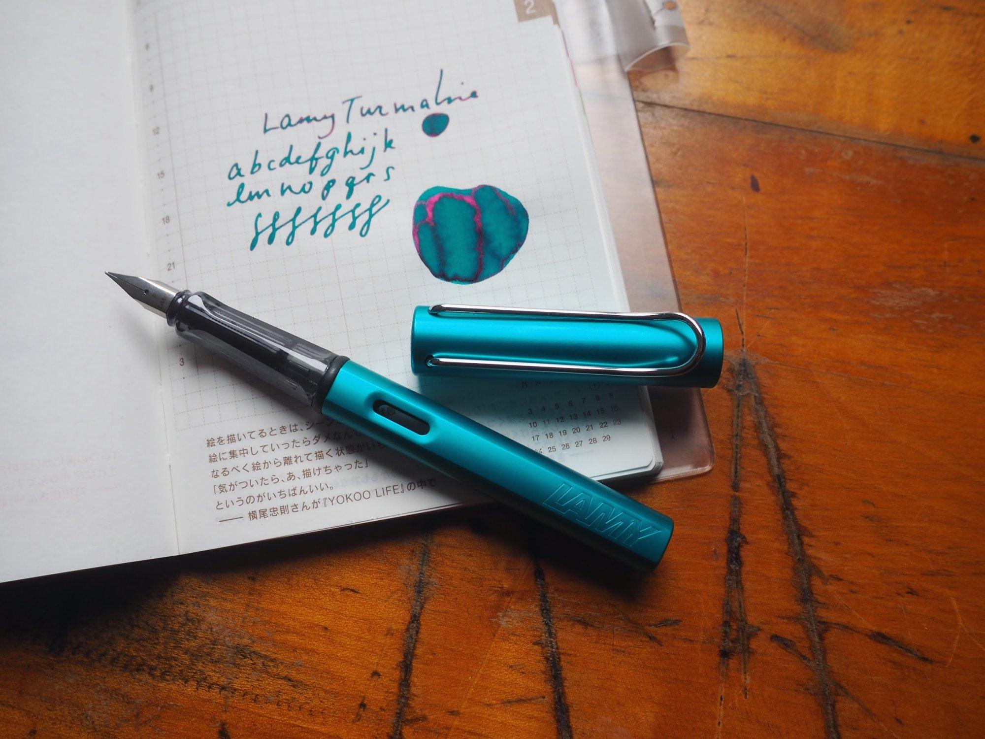LAMY AL-StarFountain Pen - Turmaline (Special Edition) Medium Nib