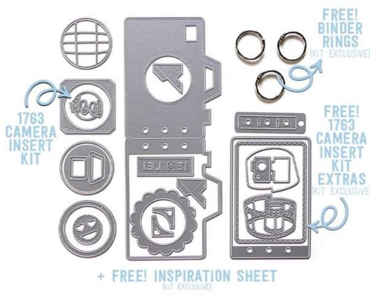 Elizabeth Craft Designs Limited Edition Camera Bundle Kit
