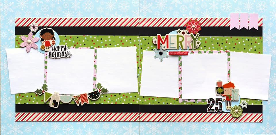 Simple Stories-Say Cheese Christmas Layouts Kit