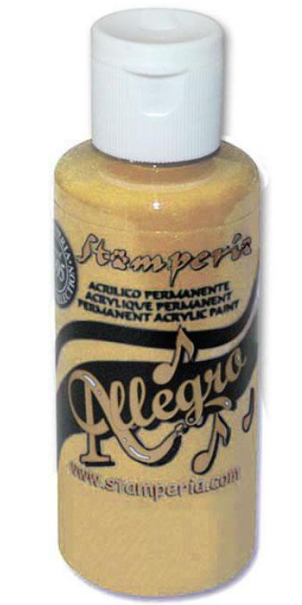 Stamperia Allegro Paint 59 ml Nougat Torroncino