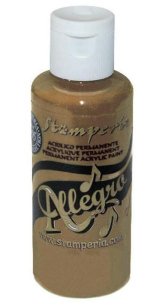 Stamperia Allegro Paint 59 ml Cappuccino