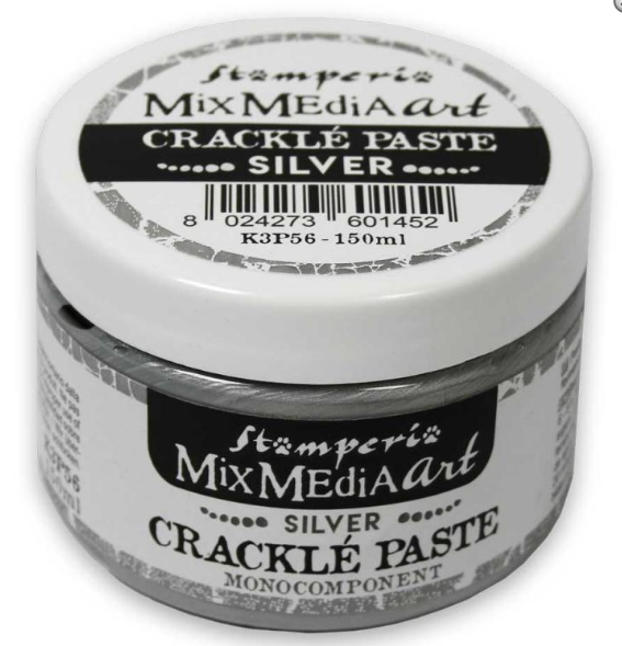 Stamperia Crackle Paste Silver 150ml