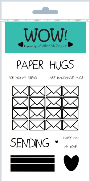 Wow Clear Stamp Paper Hugs