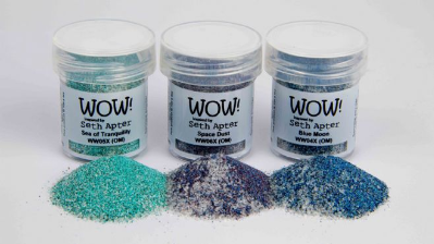 Wow Trio Cosmic Embossing Powder Seth Apter