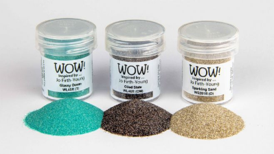 Wow Trio Dockside Embossing Powder Jo Firth Young