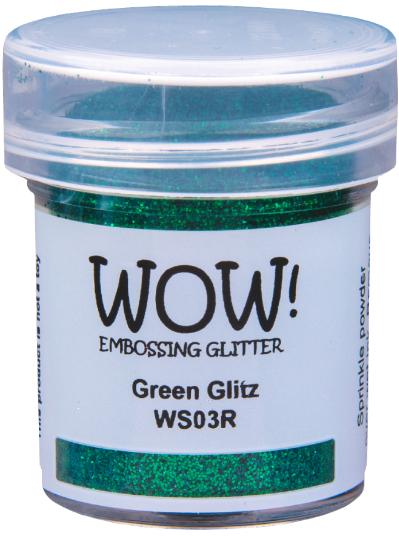 Wow Embossing Powder green glitz