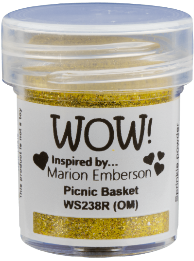 Wow Picnic Basket Embossing Powder