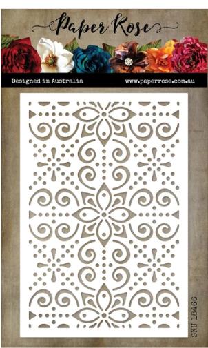Paper Rose Madeleine Decorative Background Die